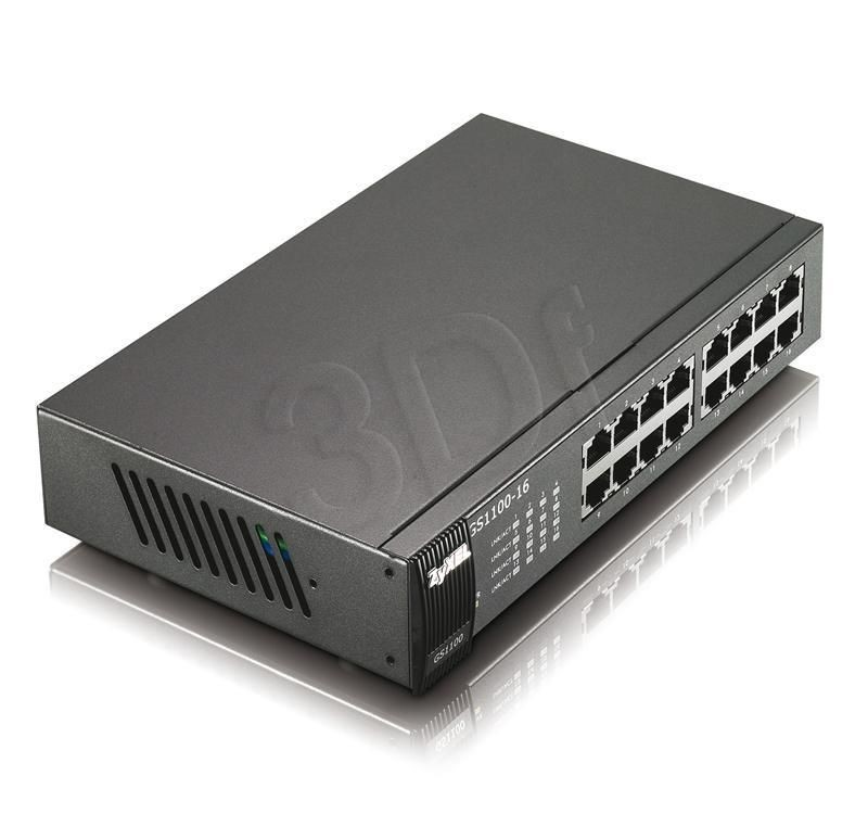 ZyXEL Switch Zyxel GS1100-16 16x1Gb/s