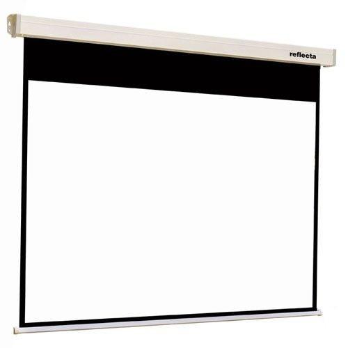 Reflecta ekran projekcyjny Crystal Line Motor (sufitowy ścienny rozwijany bezprzewodowo 196x147cm)