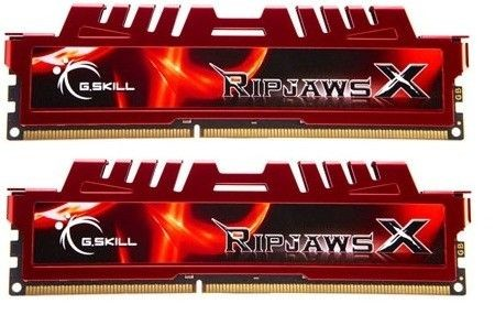 GSkill DDR3 2x4GB 1600MHz RIPJAWS X CL9 (Sandy Bridge)