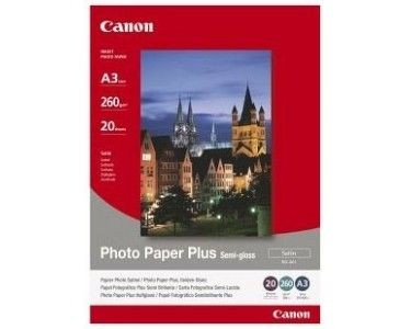 Canon SG201 Photo Plus Semi-glossy Paper (260g, A3, 20ark)