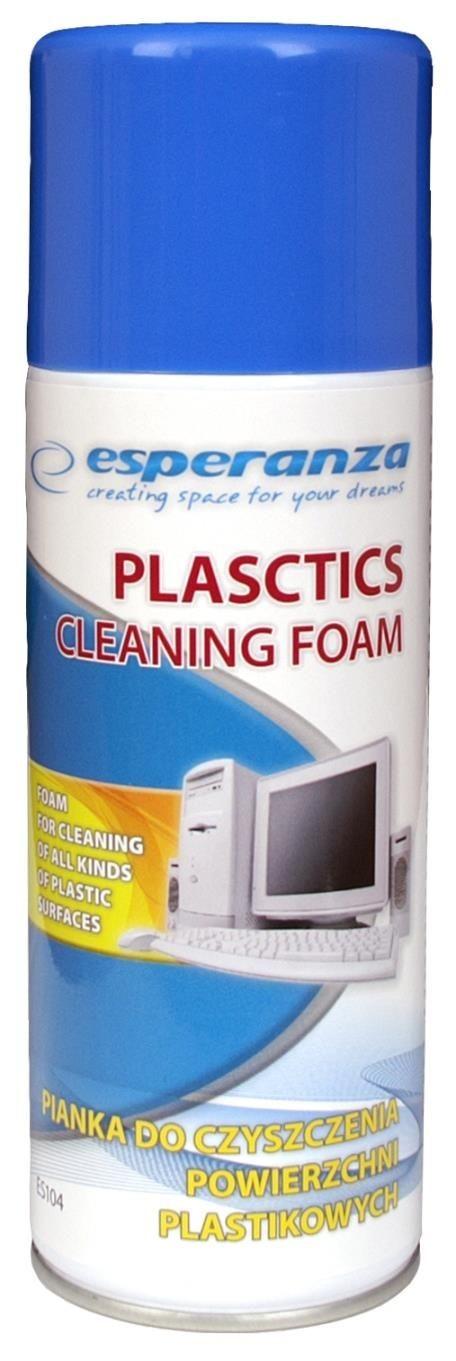 Esperanza ES104 pianka do czyszczenia plastiku 400ml
