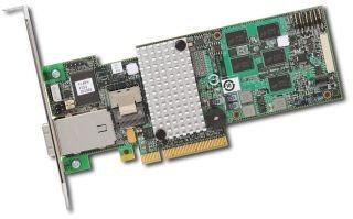 Intel RAID RS2MB044 (8 x SATA/SAS, 4 int. + 4 ext)