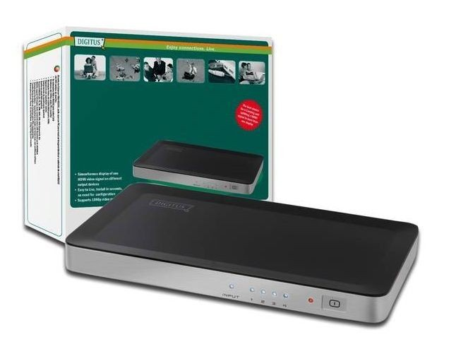 Digitus HDMI Video Splitter 1x4 (1080p)