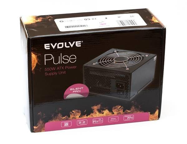 Evolveo zdroj 550W ATX, tichý, retail