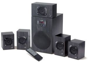 Genius SW-HF 5.1 4500 Home Theater (125W RMS)