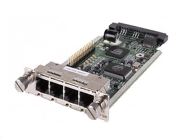 HP MSR 4-port 10/100 SIC Module