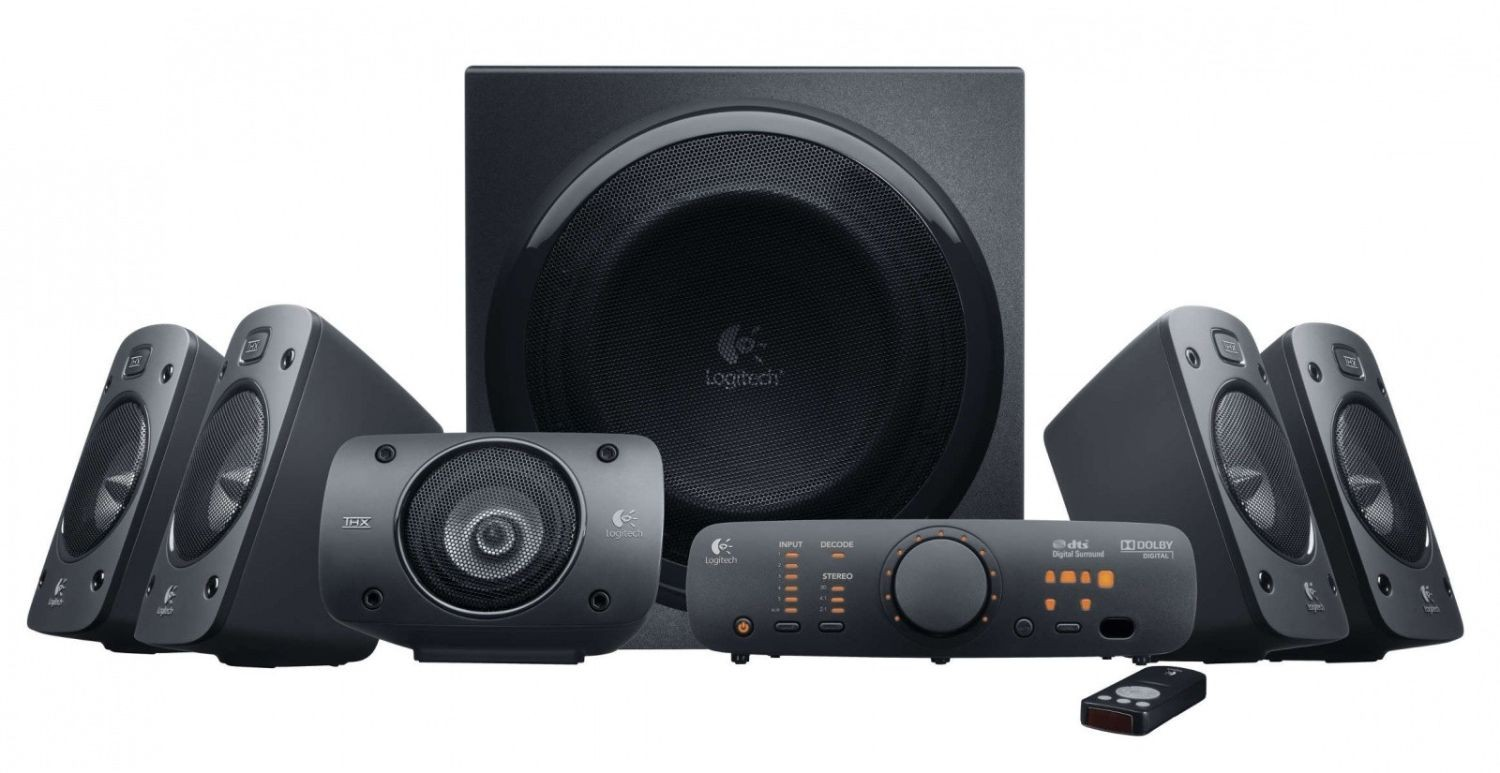 Logitech Głośniki Surround Sound Speakers Z906