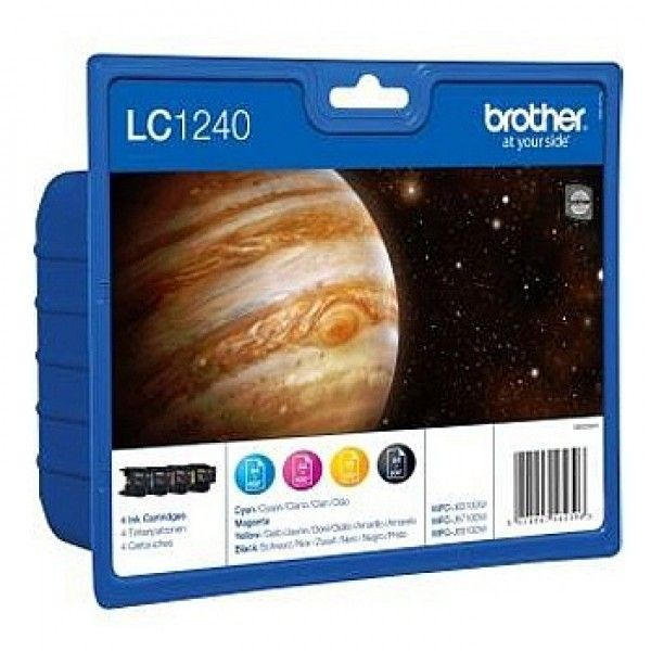 Brother Zestaw LC1240VALBP CMYK Blister Pack | 600str | DCP-J925DW / MFC-J430W /