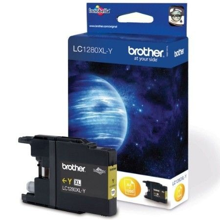 Brother Tusz LC1280XLY yellow | 1 200str | MFC-6910DW / DCP-J925DW / DCP-J525W