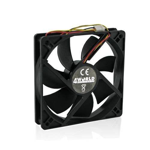4World wentylator do CPU/GPU/obudów ATX 60x60x15mm (3-pin łoż. ślizgowe)