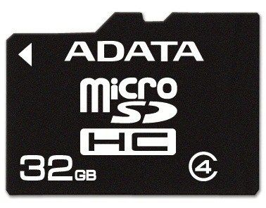 A-Data micro SecureDigital HC 32GB (Class 4)