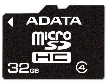 A-Data micro SecureDigital HC 32GB (Class 4)