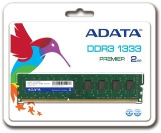 A-Data 2GB 1333MHz DDR3 CL9 Retail