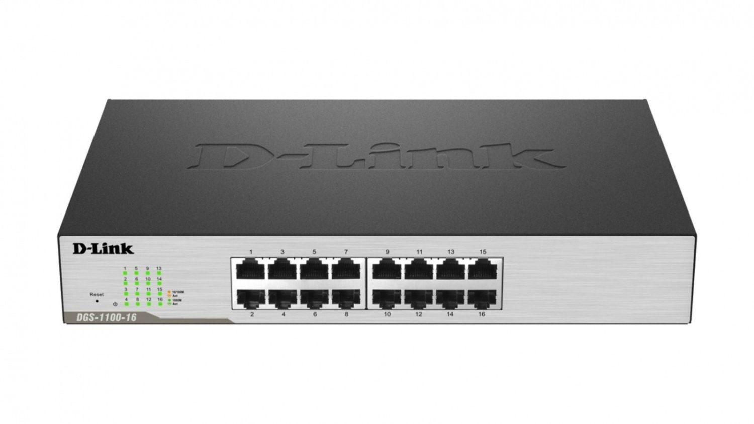 D-Link 16-port 10/100/1000 EasySmart Switch