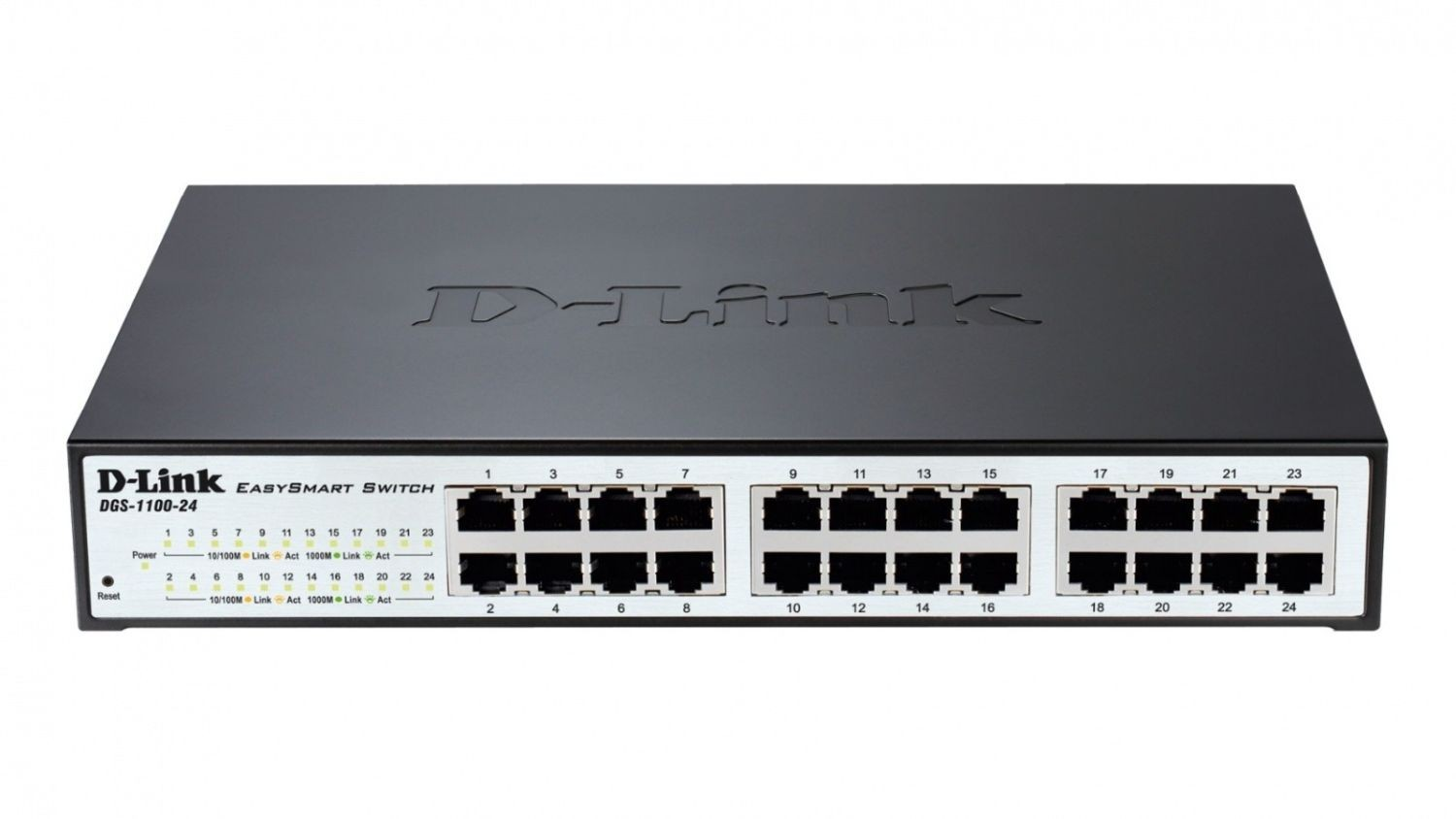 D-Link 24-port 10/100/1000 EasySmart Switch