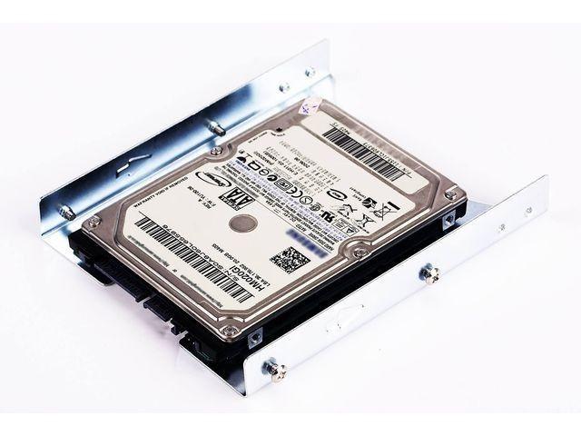 Gembird adapter/redukcja HDD/SSD sanki 3,5''->2,5''