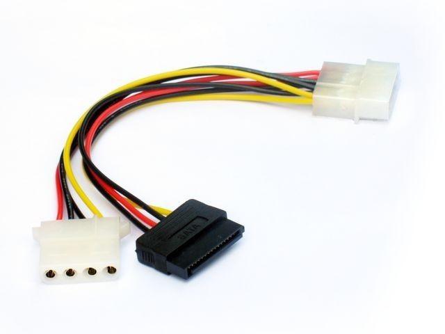 Gembird kabel do dysków sata/ATA zasilający 0,15m molex(f)->molex(m)sata(m)
