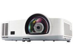 NEC M260WS (2600 ANSI, Short Throw, 5,000h lamp/filter, HDMI, RJ45, WXGA)