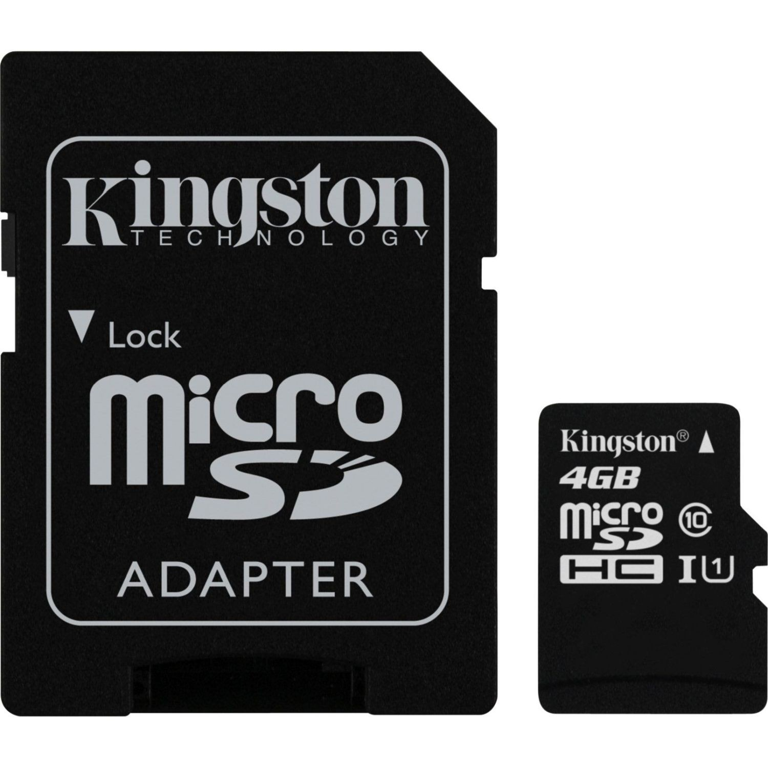 Kingston 4GB microSDHC Card Class 10