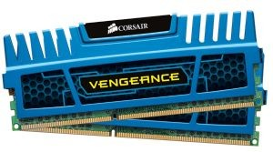 Corsair Vengeance 2x4GB 1600MHz DDR3 CL9 1.5V Radiator, Niebieska