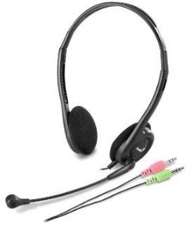 Genius HS-200C (słuchawki z mikrofonem, czarne)