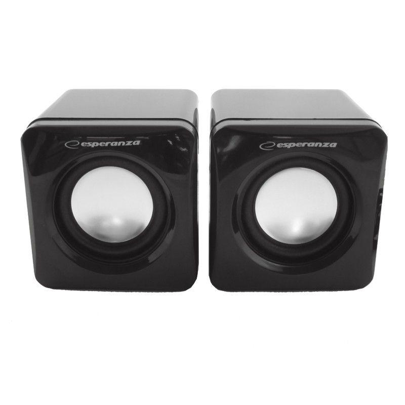 Esperanza Głośniki 2.0 Leggiero EP111 Cube USB - 2 x 3W