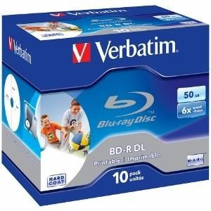 Verbatim BD-R DL 50GB 6x Printable (jewel case, 10szt)