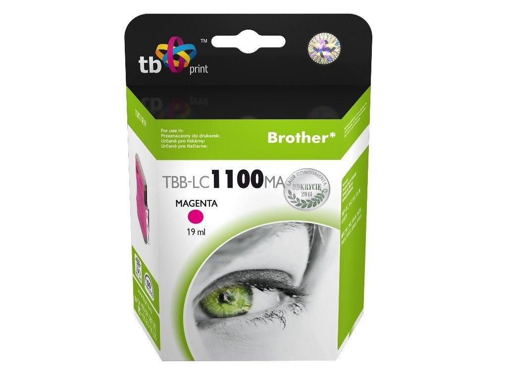 TB Print Tusz do Brother LC980/1100 TBB-LC1100MA MA 100% nowy