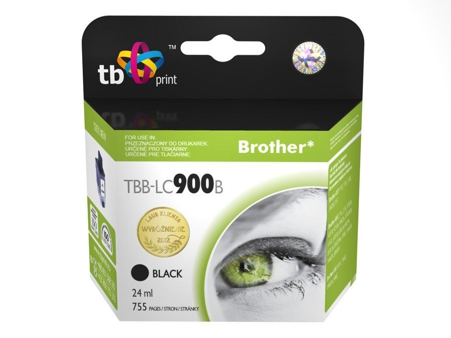 TB Print Tusz do Brother LC900 TBB-LC900B BK 100% nowy