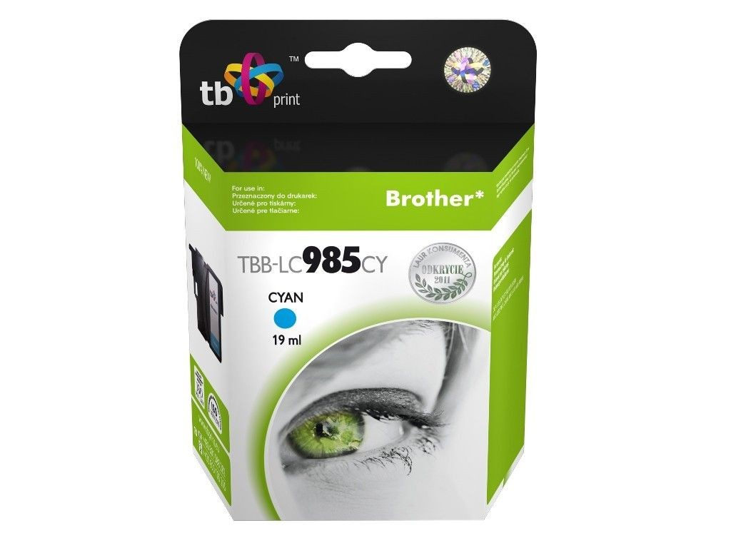 TB Print Tusz do Brother LC 985 TBB-LC985CY CY