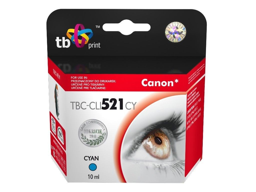 TB Print Tusz do Canon CLI-521 TBC-CLI521CY CY