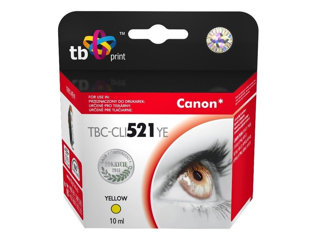 TB Print Tusz do Canon CLI-521 TBC-CLI521YE YE