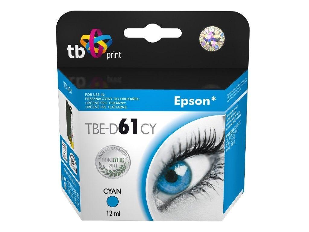 TB Print Tusz do Epson D68 TBE-D61CY CY
