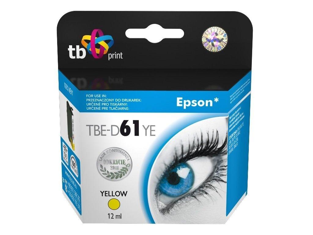TB Print Tusz do Epson D68 TBE-D61YE YE