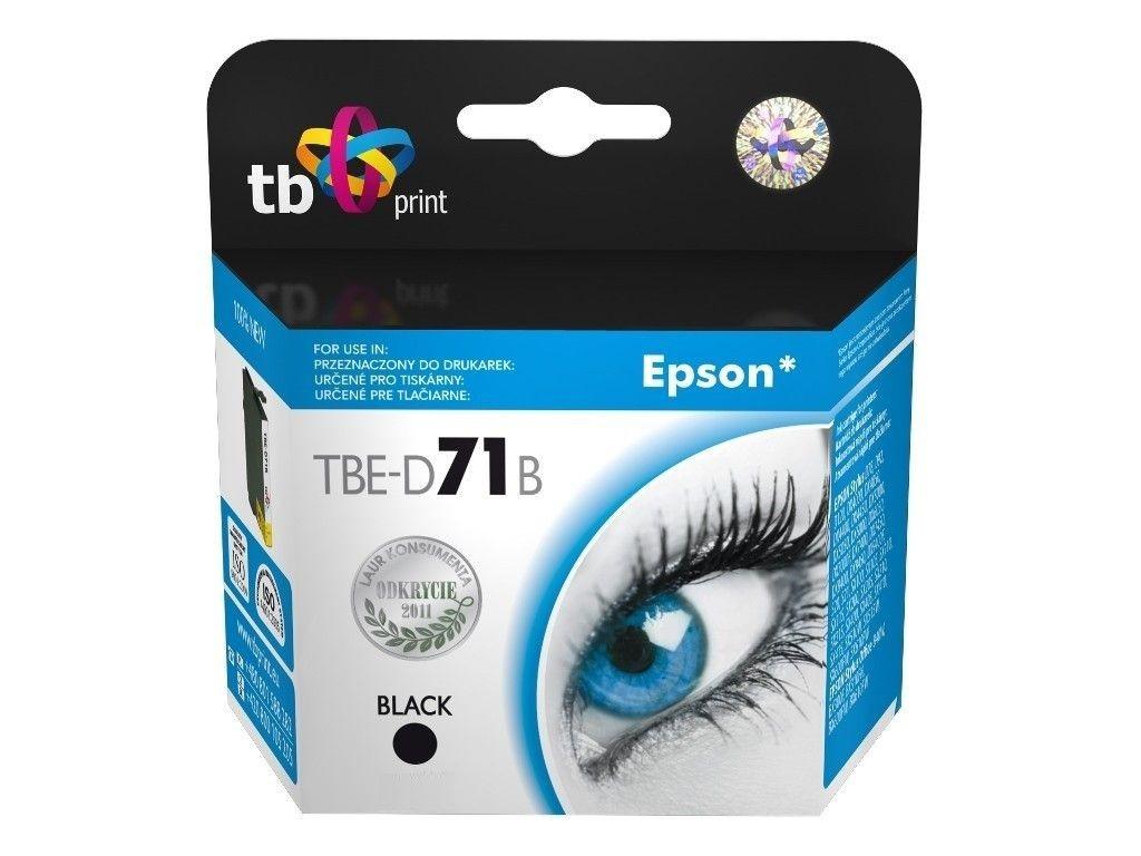 TB Print Tusz do Epson T071140 TBE-D71B BK 100% nowy