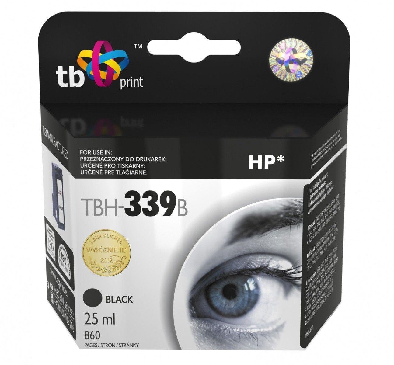 TB Print Tusz do HP Nr 339 - C8767EE TBH-339B BK ref.