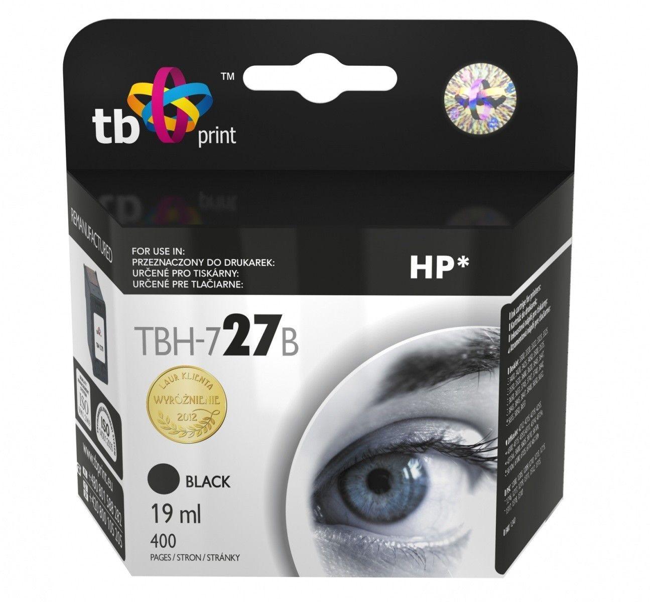 TB Print Tusz do HP Nr 27 - C8727A TBH-727B BK ref.