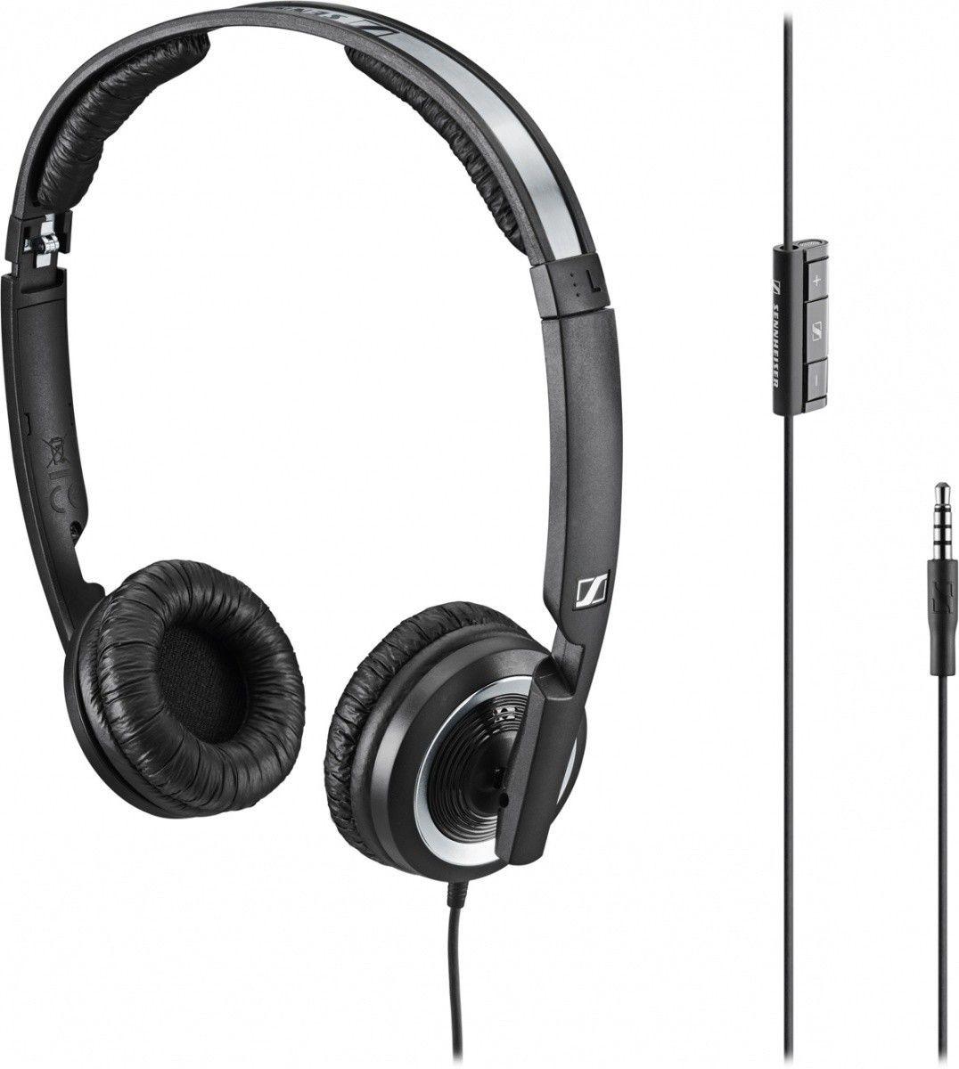 Sennheiser PX 200i Słuchawka nauszna, składana do urządzeń Apple