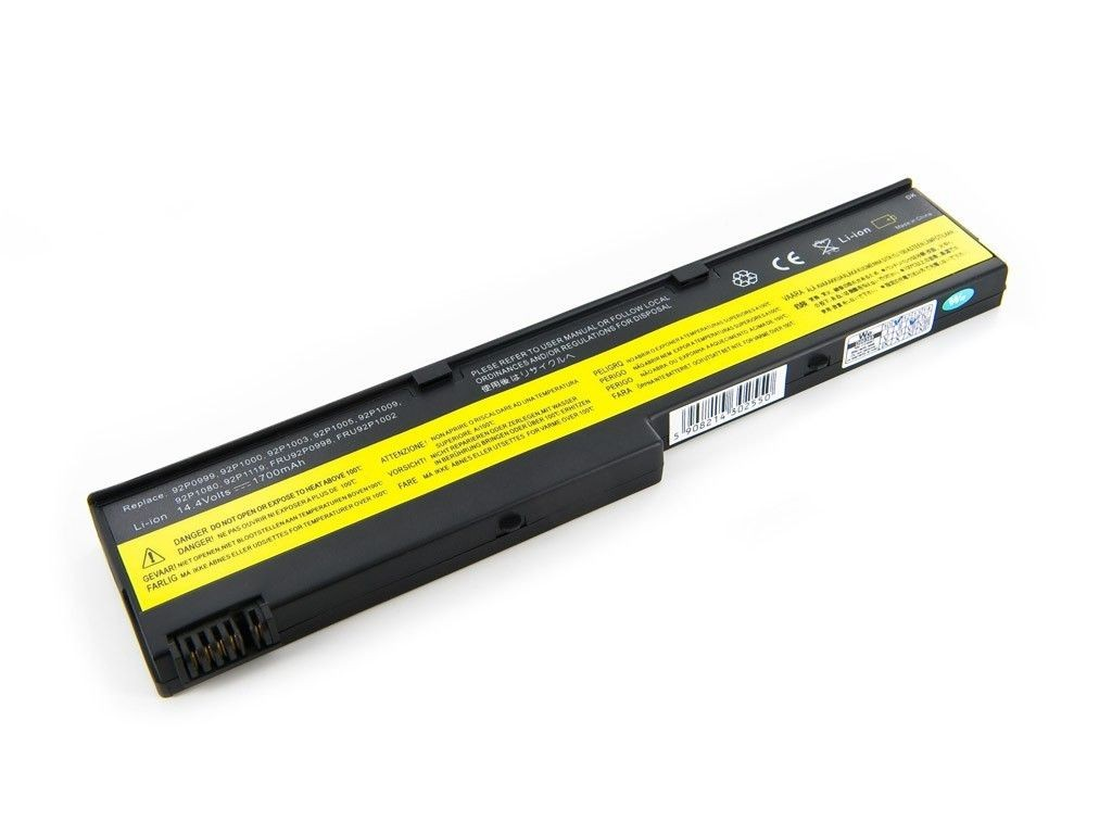 Whitenergy bateria Lenovo ThinkPad X40 (14.4V, Li-Ion, 1700mAh)