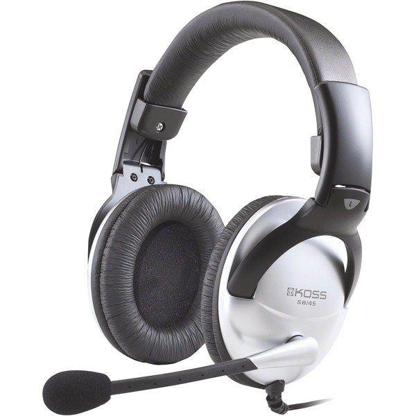 Koss KOSS sluchátka SB45 , sluchátka s mikrofonem, bez kódu