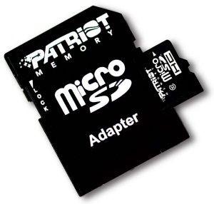 Patriot micro SecureDigital HC LX 32GB (Class 10) + adapter SD