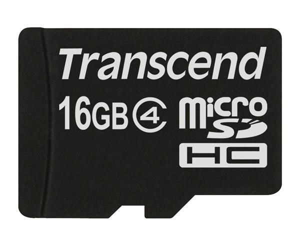 Transcend micro SecureDigital HC 16GB (Class 4)
