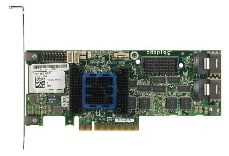 Adaptec RAID 6805 Single SATA/SAS PCIe