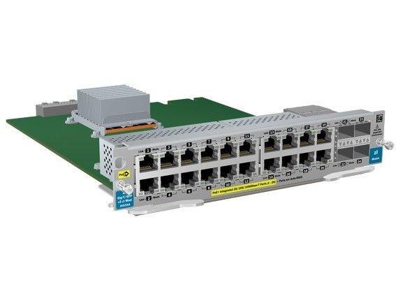 HP ARUBA 20-port GT PoE+/4-port SFP v2 zl Module J9535A