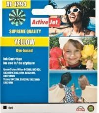 ActiveJet Tusz ActiveJet AE-1294 | Yellow | 15 ml | Epson T1294