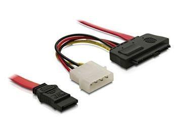 DeLOCK kabel SAS 29 pin -> SATA 7 pin 0.5m