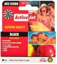 ActiveJet Tusz ActiveJet ACC-526BN | Black | 10 ml | Chip | Canon CLI-526BK