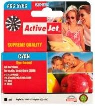 ActiveJet Tusz ActiveJet ACC-526C | Cyan | 10 ml | Chip | Canon CLI-526C