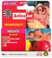 ActiveJet Tusz ActiveJet ACC-526M | Magenta | 10 ml | Chip | Canon CLI-526M