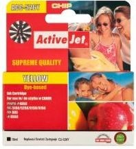 ActiveJet Tusz ActiveJet ACC-526YN | Yellow | 10 ml | Chip | Canon CLI-526Y